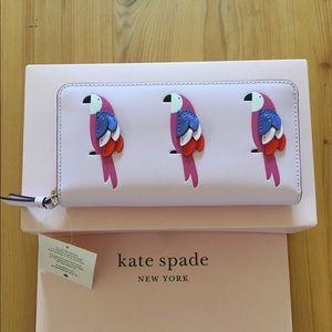 Kate Spade Flock Party Large Wallet